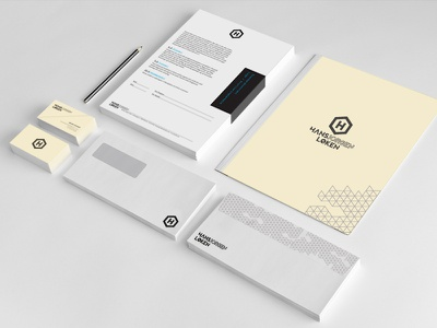Self Promotion stationary behance project self branding branding logo paper tactile business corporate minimalistic