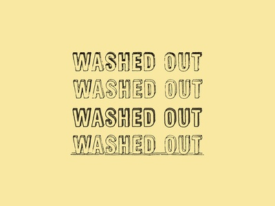 Commercial Arts : Washed Out