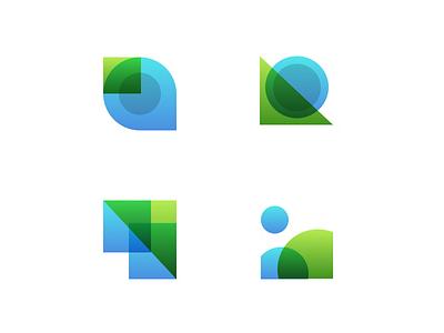 MachineShop Icons edge computing tech simple overlay abstract icons