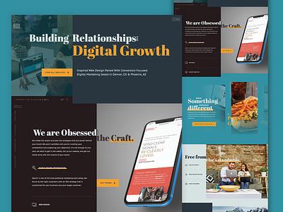 Buhv Website 3.0 teal interactive web design website web