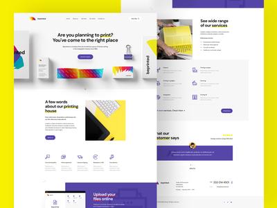 Printing House — Website