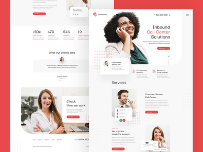 Call Centre  — Subpages