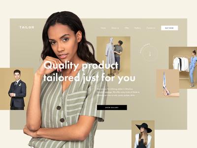 Tailoring — Website