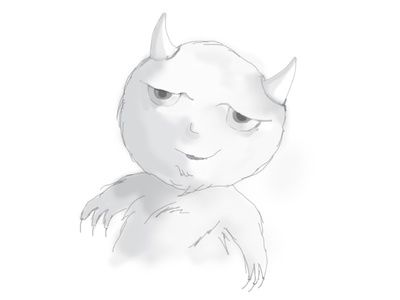 Demon Mascot
