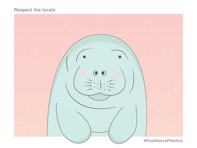 Respect the Locals - Manatee