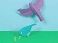 Scene 3 birds