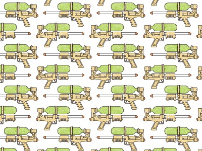 Super Soaker Pattern