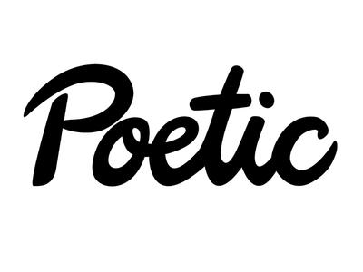 Poetic Script Logo