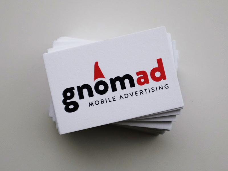 Gnomad Branding typography advertising branding logo