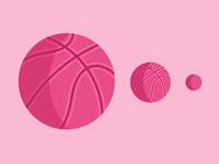 Emoji Series: Dribbble Basketball