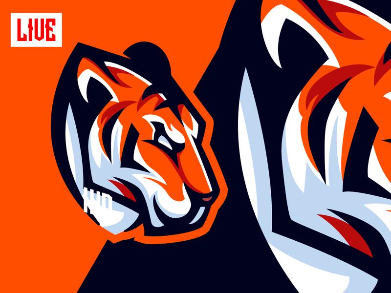 Tiger Mascot Character tiger king angry tiger mascot angry tiger logo tiger mascot mascot tiger ui design draw esports character animals owl logo eagle logo animals logo owl logo