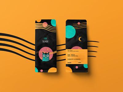 Owlie Dark Coffee Packaging packaging mockup coffeebrand design product design owl logo vector branding illustration packaging design coffeepackaging coffee shop packaging coffee