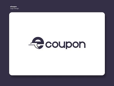 eCoupon Identity icon typography adobe illustrator brand design brand identity platform coupon logotype logo mark visual identity color palette branding vector design logo