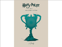 Harry Potter and The Goblet of Fire - Book Cover Design