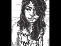 Portrait Translation Series   2D Design