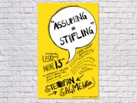 Stefan Sagmeister   Poster Design