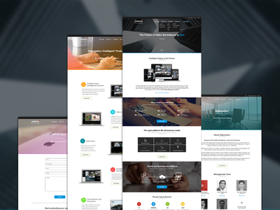 Videonetics Redesign | UI/UX and Front end dev