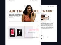 Upcoming   Portfolio Website Redesign