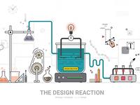 The Design Reaction   Graphic design