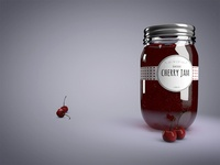 Jam with love   3D Render