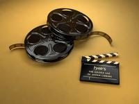 The Golden Age Of Indian Cinema   3D Render