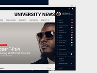 News Page Side Bar