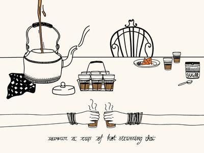 Chai/CHI/ - Tea | Infographic