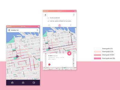 Wiggle Map UI