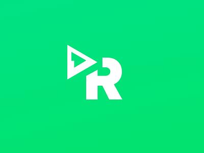 Reelgood Icon app video streaming identity brand logo icon