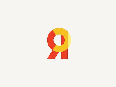 Resolution Collective Logo geometric orange law mediation branding identity brand logo