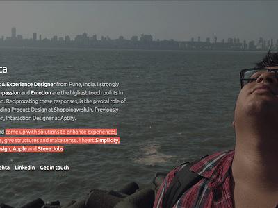 Redesigned Personal site redesign personal branding product designer branding blog designer website ui ux