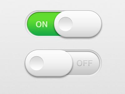 Toggle Switch ios iphone app toggle ui switch