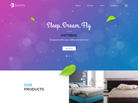 one page website_Butterfly Mattress