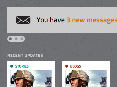 Dashboard dashboard blog messages notifications article