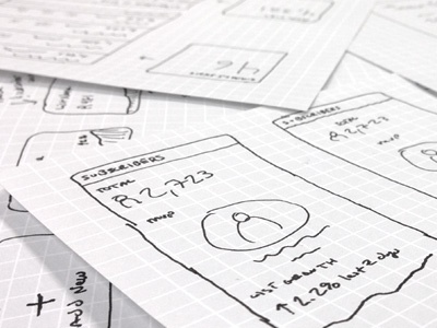 UI sketches ui ux sketches