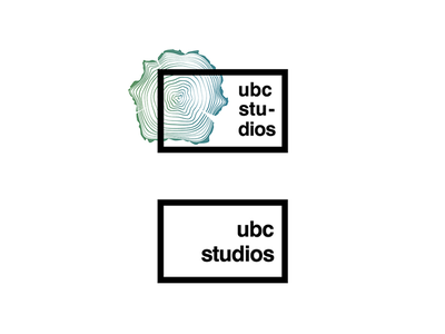 UBC Studios - Logo film production studio ubc studios ubc identity logo
