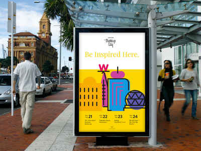 Vancouver Startup - Identity illustration vibrant colorful startup vancouver brand identity
