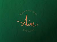 Aim Studios Logo & Identity - WIP
