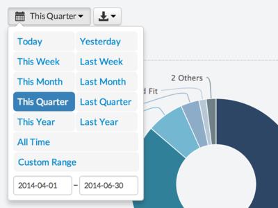Date Range Picker date daterange daterangepicker bootstrap web reporting