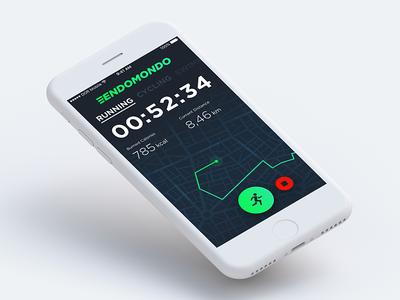 Endomondo – Redesign Concept