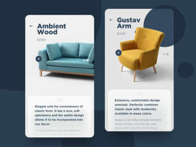⚡️ Single Product – UI Challenge modern custom form e-commerce shop furniture ui ux challenge daily ui