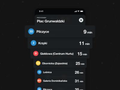🚊 N3XT – Bus Stop Schedule