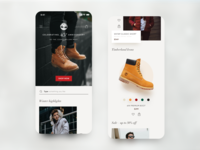 Timberland – Concept Mobile Store