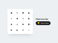 💎 Filled Icons Set (Freebie)