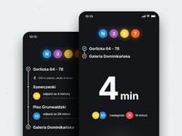 🚊 N3XT 2.0 – Route Info + Transfers