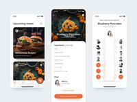 👩🏻‍🍳 Cookguru – Foodsharing App lunchbox lunch food sharing foodsharing cooking cookguru user interface app ux ui ios
