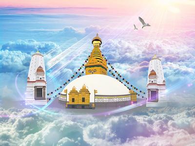 Swayambhunath Vector and Manipulations