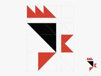 Old logo concept redesigned (Chick'N Corner) 2