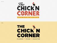 Old logo concept redesigned (Chick'N Corner) 3