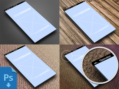 Showcase template for iphone5